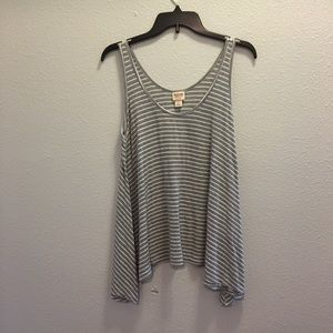 Mossimo Flowy Ribbed Tank Top